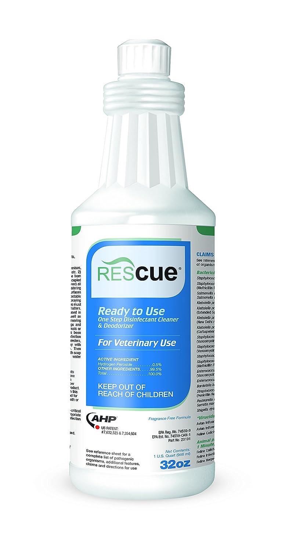 Rescue RTU One-Step Disinfectant Cleaner & Deodorizer, 32 oz. Squeeze Bottle Diversey INC. RESAMZ32S