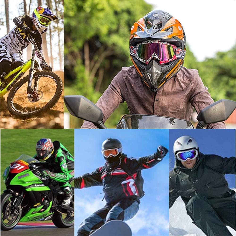 Occhiali Protezione moto Motocross Motocross Sci Antivento Antipolvere