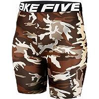 JustOneStyle New 071 Skin Tights Compression Base Layer Camo Running Short Pants Mens