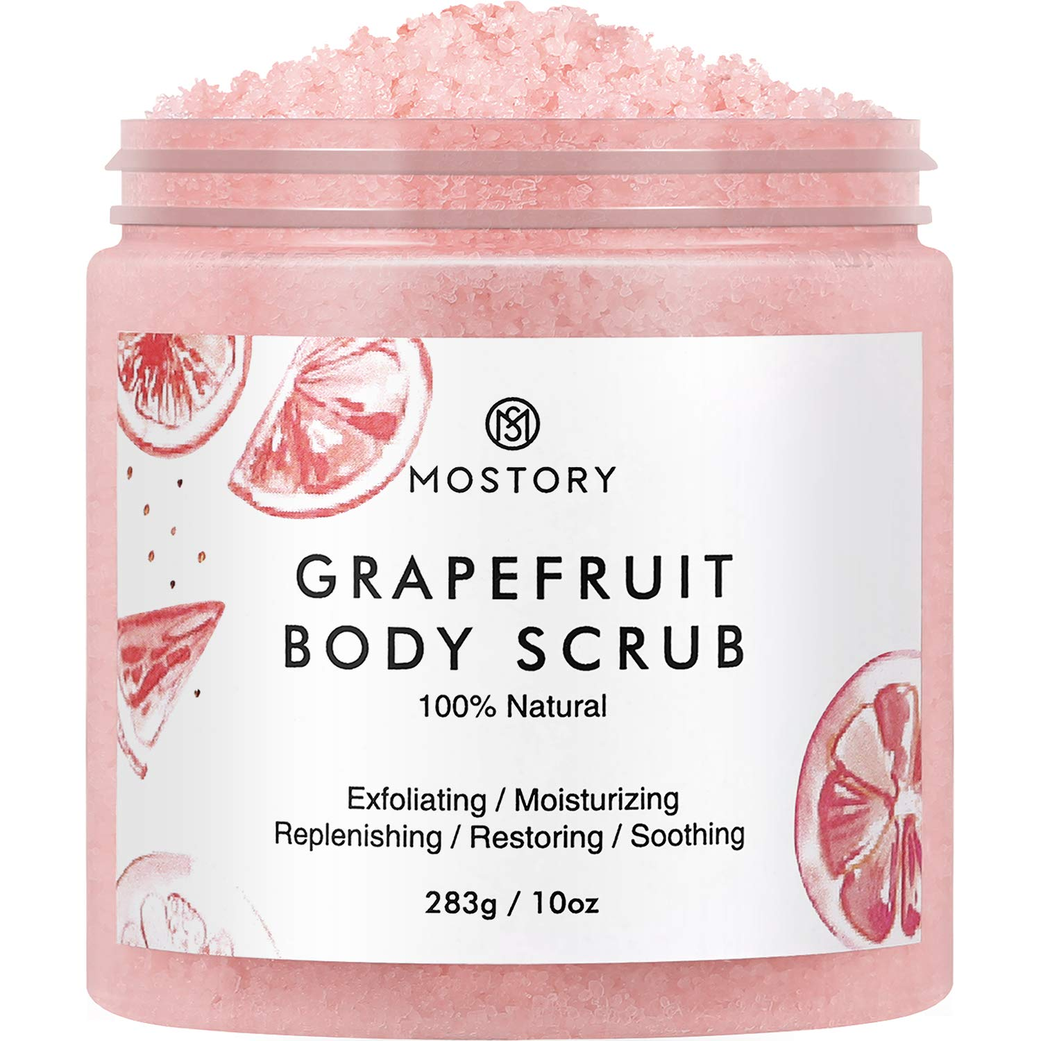 Amazon Com Natural Grapefruit Exfoliating Body Scrub Shooting