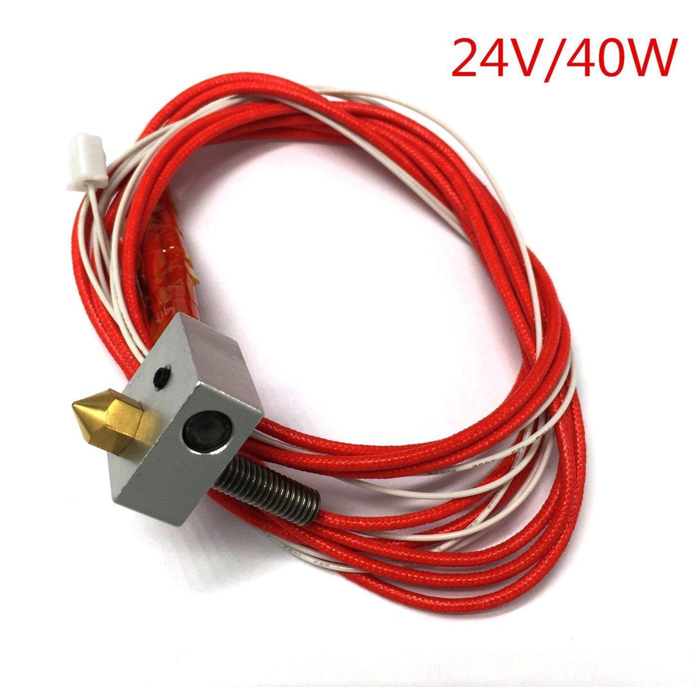 Boquilla de extracción de impresora 3D, termistor térmico, 24 V ...