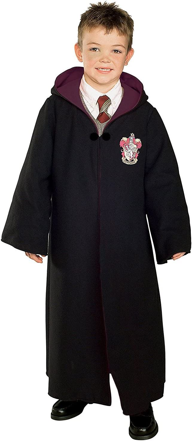 Harry Potter Gryffindor Child Fancy Robe Cloak Dress Costume 5-8 ...