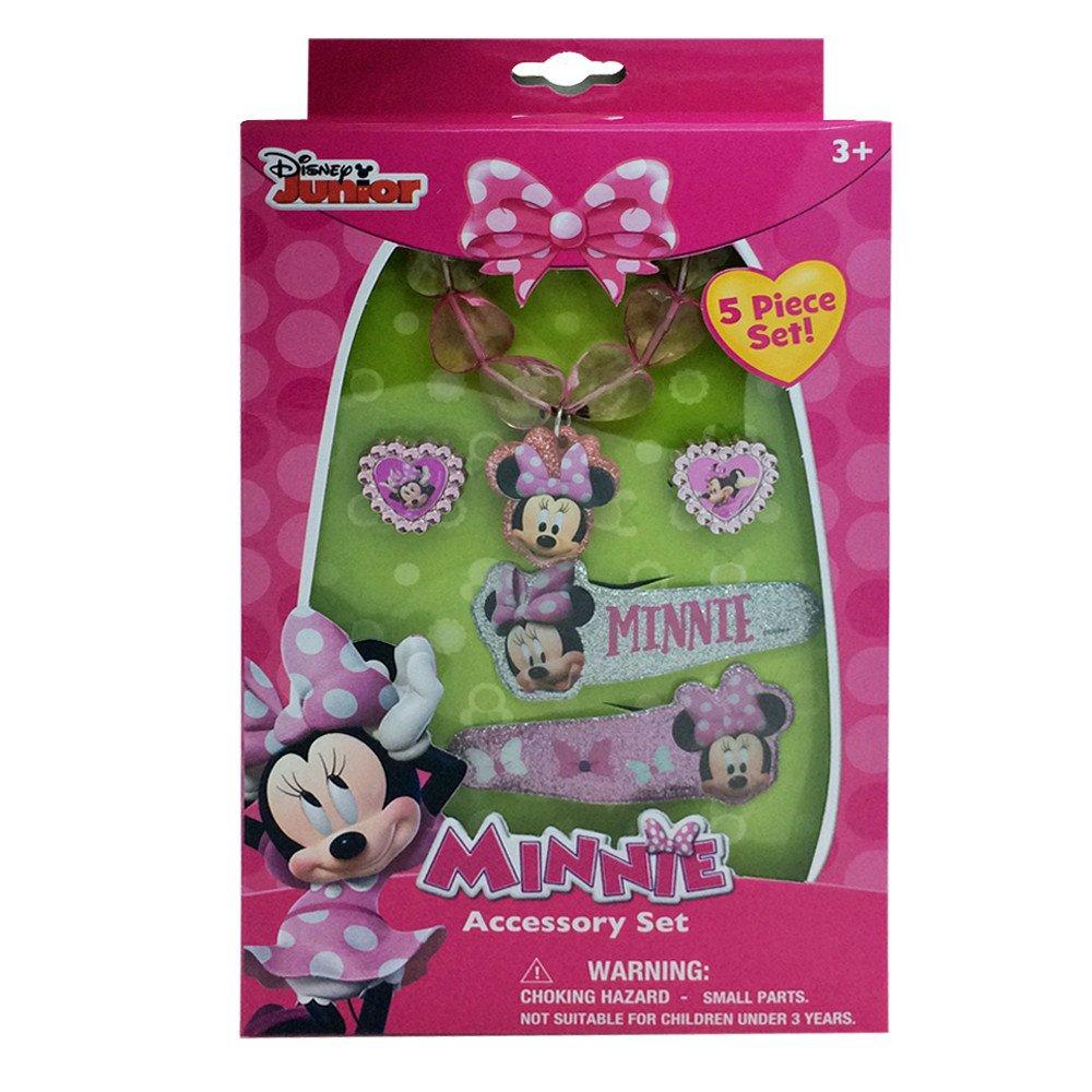 Dress ups minnie mouse jewelry box set with pvc snap for Minnie mouse jewelry box