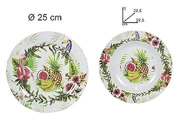 GI Set vaisselle en mélamine décorée idéaux pour pique-nique Camping ...