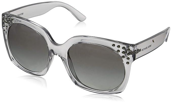 Michael Kors 0MK2067 Gafas de sol, Clear Crystal, 56 para ...