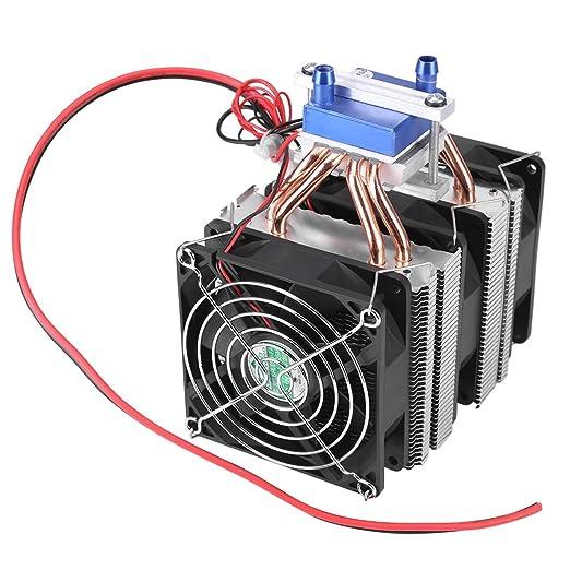 Dispositivo de enfriamiento del enfriador de agua del ventilador del refrigerador del radiador de refrigeración de semiconductores termoeléctricos para el tanque de peces(180W): Amazon.es: Industria, empresas y ciencia