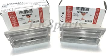 Land Rover New Genuine Number Plate Light XFC500040