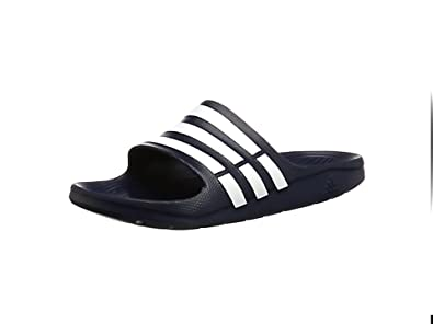 adidas Unisex Adults Slide Sandals, Blue (New Navy/White/New Navy)