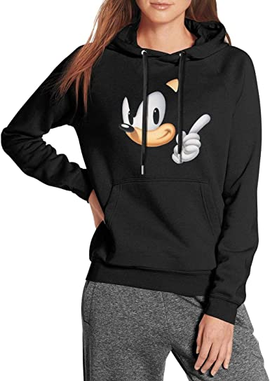 Amazon Com Beercsdd2 Womens Hoodies Winter Cool Sonic The Hedgehog Extraterrestrial Blue Adventure Long Sleeve Party Pullover Sweaters Clothing