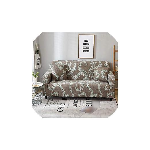Black-Sky A Cuadros Cubre sofá sofá elástico Cubre para Sala ...