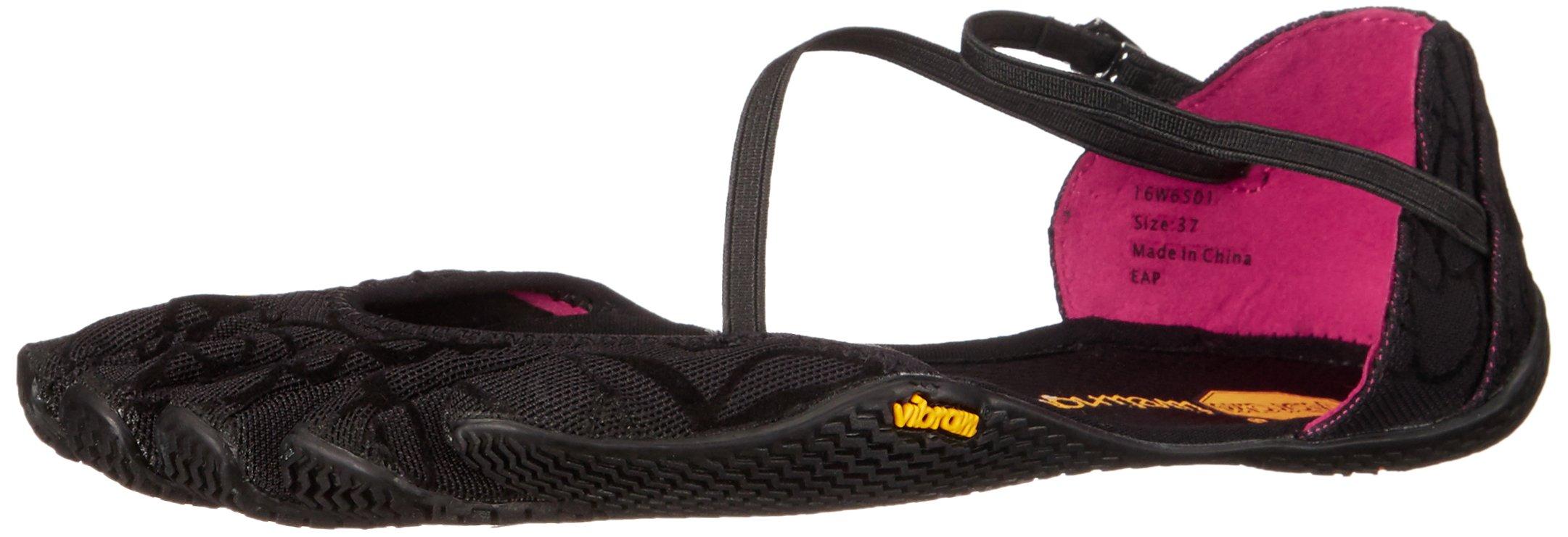 Vibram Women's Vi-S-W Fitness/Yoga Shoe, Black, 40 EU/8 M US