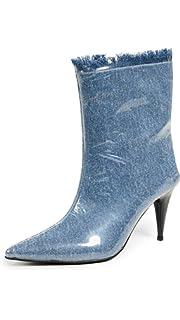 a365f648173 Jeffrey Campbell Women s Plastique Point Toe Booties