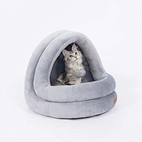 Cama de gato suave, confortable cama para mascotas Pet, desmontable lavable cama para Gatos