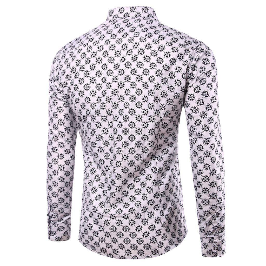 Alelife Clothing Gift for Men Mens Autumn Winter Long Sleeved Patchwork Fastener Sweatshirts Top Blouse