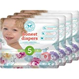 Amazon Price History for:Honest Baby Diapers, Rose Blossom, Size 5, 100 Count