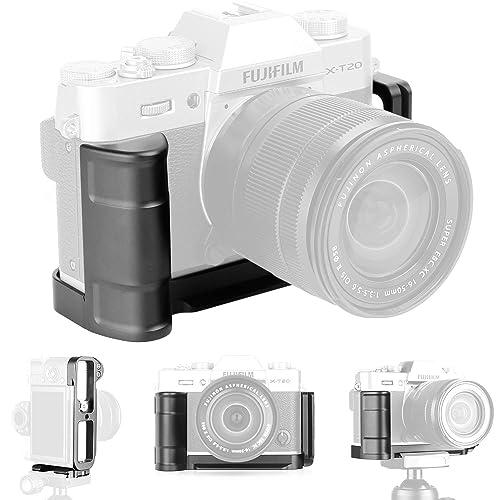 XT10 Grip Vertical Shoot Hand Grip QR Quick Release L Plate Camera Bracket Holder for Fuji Fujifilm XT10 X T10 X-T10 XT20 X T20 X-T20