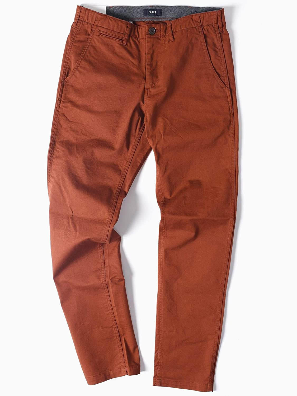 (シップス) SHIPS (2740) SC:COLOR TAPERED CHINO 113140415 B07DWJVRLP US 33-(33)|Orange2 Orange2 US 33-(33)