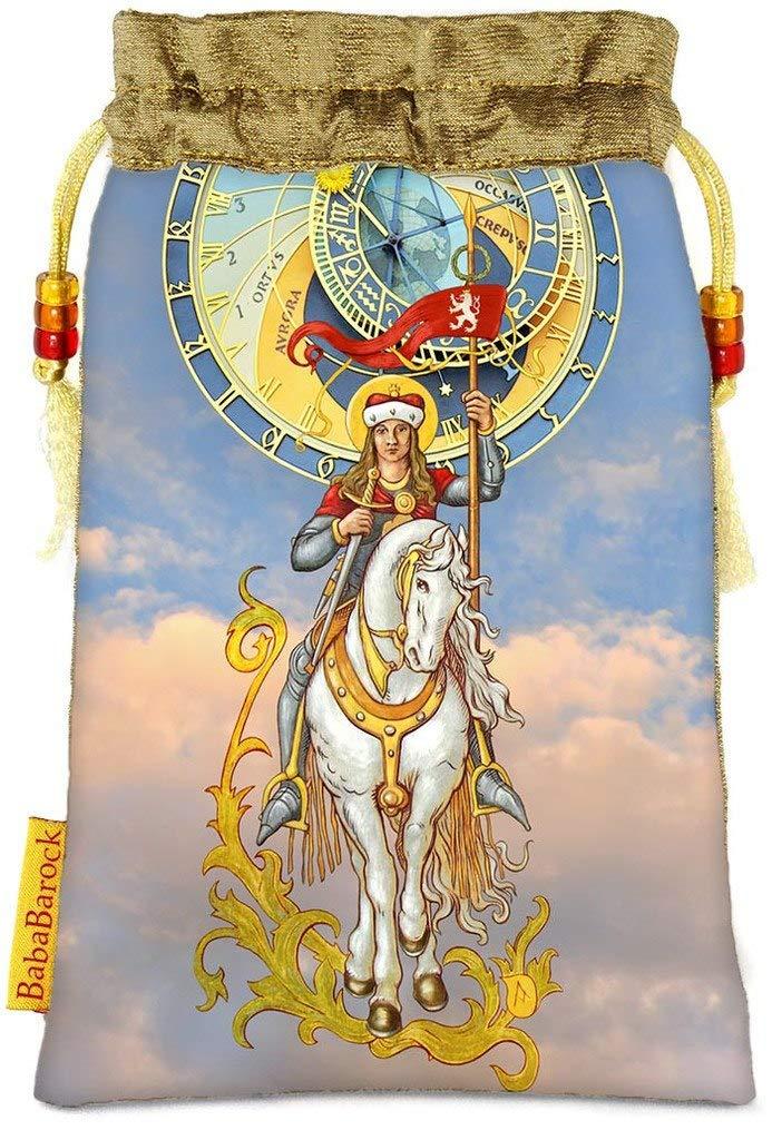 Limited Edition Knight of Wands Photo-Printed Drawstring Tarot Bag