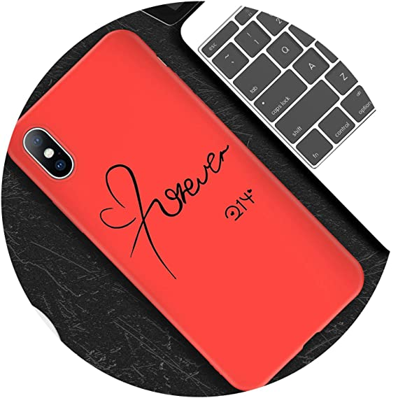 4f5ff91e5bbf Image Unavailable. Image not available for. Color  Silicone Case for iPhone  6 6S 7 8 Plus X ...