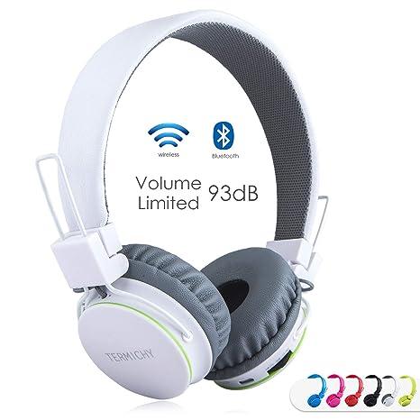 Cuffie Bluetooth Senza Fili per Bambini con Microfono + Controller Volume 30c1776d9cf3