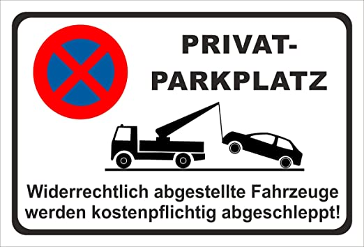 nur für Hotelgäste 3 mm Alu-Verbund Schild Parken Parkplatz