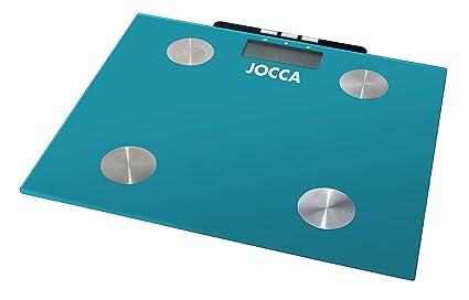 Jocca 7148A - Bascula para medir la grasa, color azul