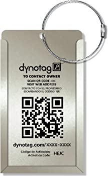 Dynotag Convertible Smart Luggage Tag