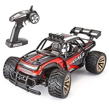 VATOS Control Remoto para Auto Escala 1:16 2.4 GHz Carretera eléctrico de Alta Velocidad Monster Truck RC Buggy Race Crawler, Negro: Amazon.es: Juguetes y ...