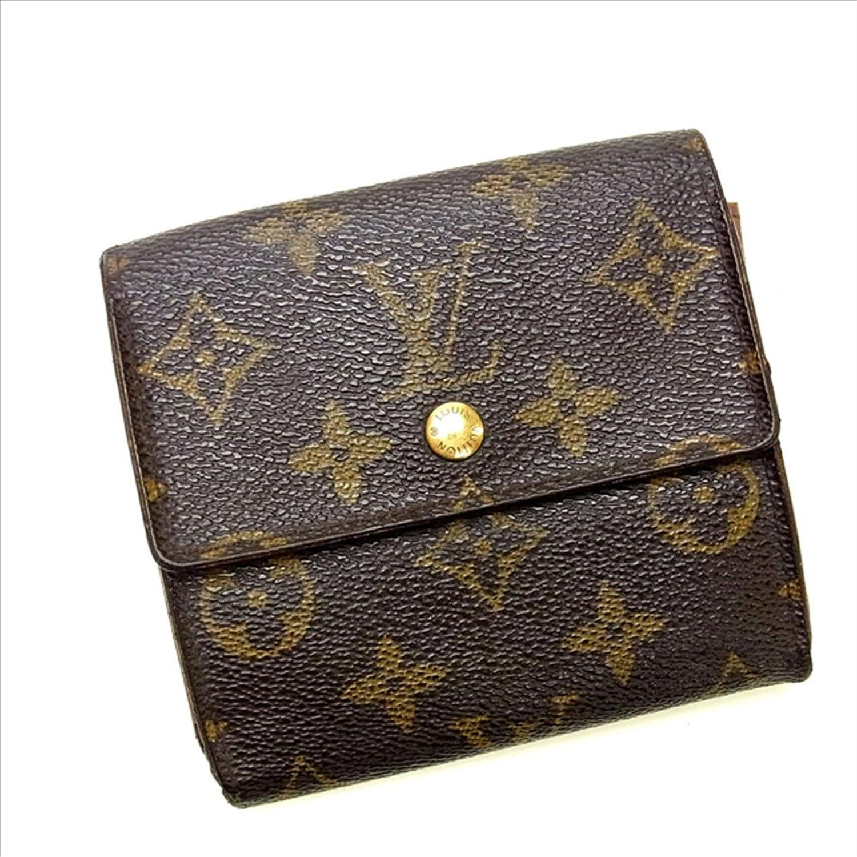 ルイヴィトン Louis Vuitton Wホック財布 三つ折り ユニセックス ポルトフォイユエリーズ M61652 モノグラム 中古 Y139 B0772SKGHP