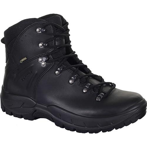dda76b6fb3e Lowa Ronan GTX Mid TF Military Boots UK 9 Black: Amazon.ca: Shoes ...