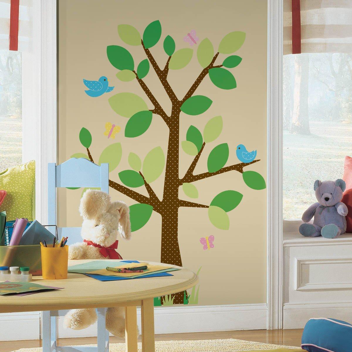RoomMates 54276 Gepunkteter Baum