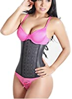 Colombian Latex Waist Cincher Waist Trainer Trimmer Long Torso with 3 Hook Rows