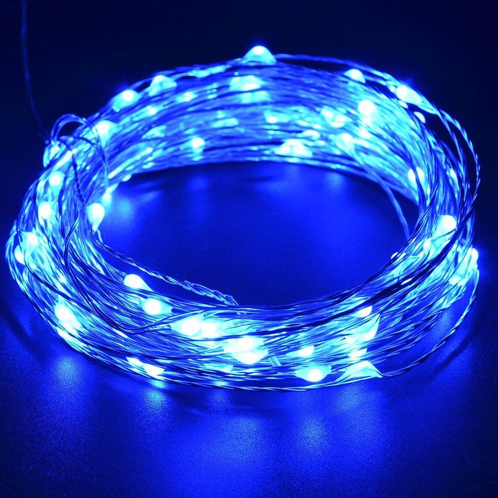 100er LED Lichterkette USB Powered Wasserdicht mit Garten Außen- und ...