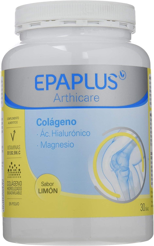 Epaplus Colágeno Ácido Hialurónico y Magnesio Sabor Limon - 332 gr ...