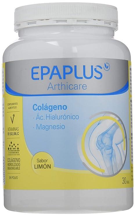 Epaplus Colágeno Ácido Hialurónico y Magnesio Sabor Limon - 332 gr