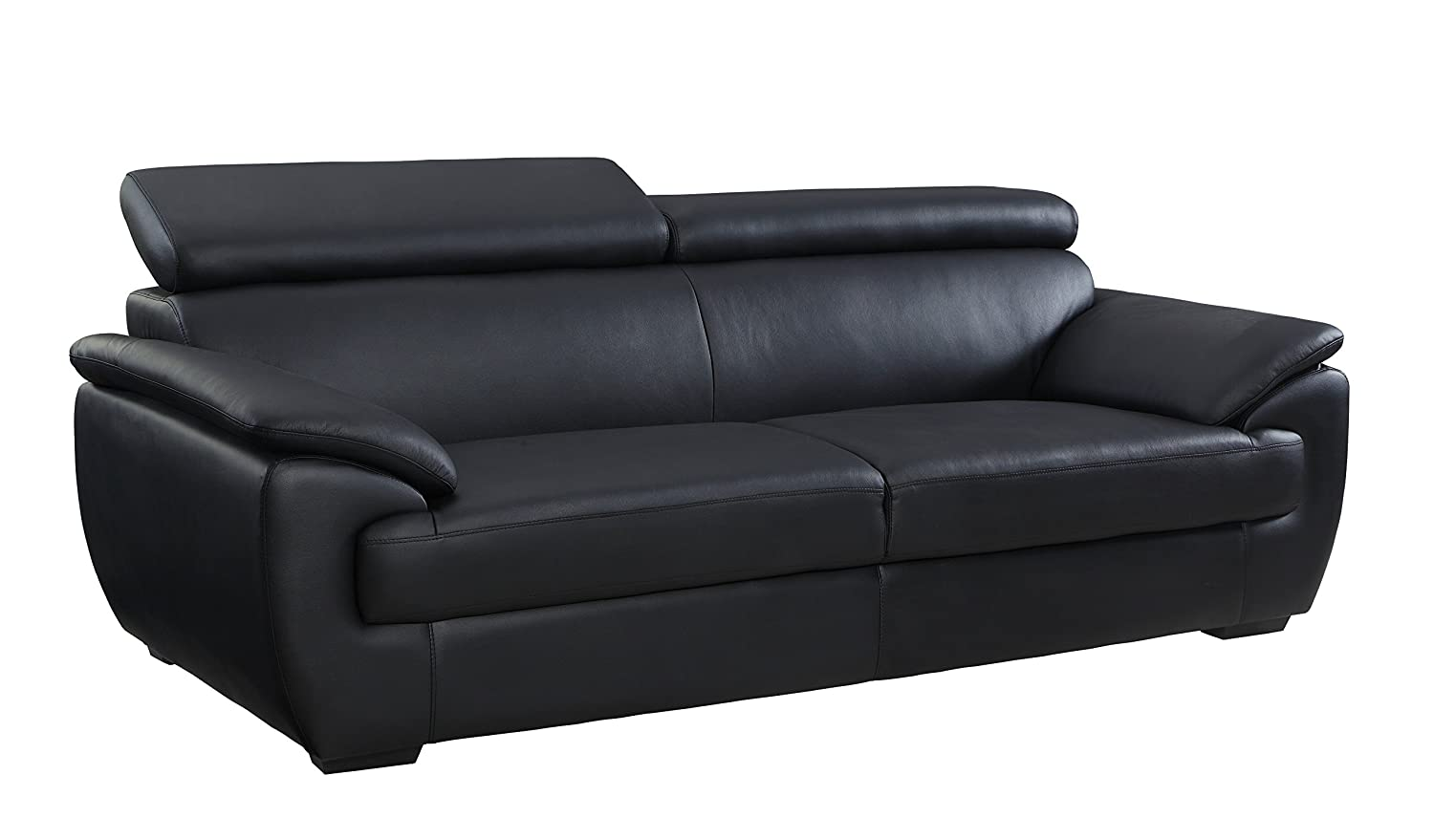 Amazon.com: Blackjack Furniture The Veal Collection Leather ...