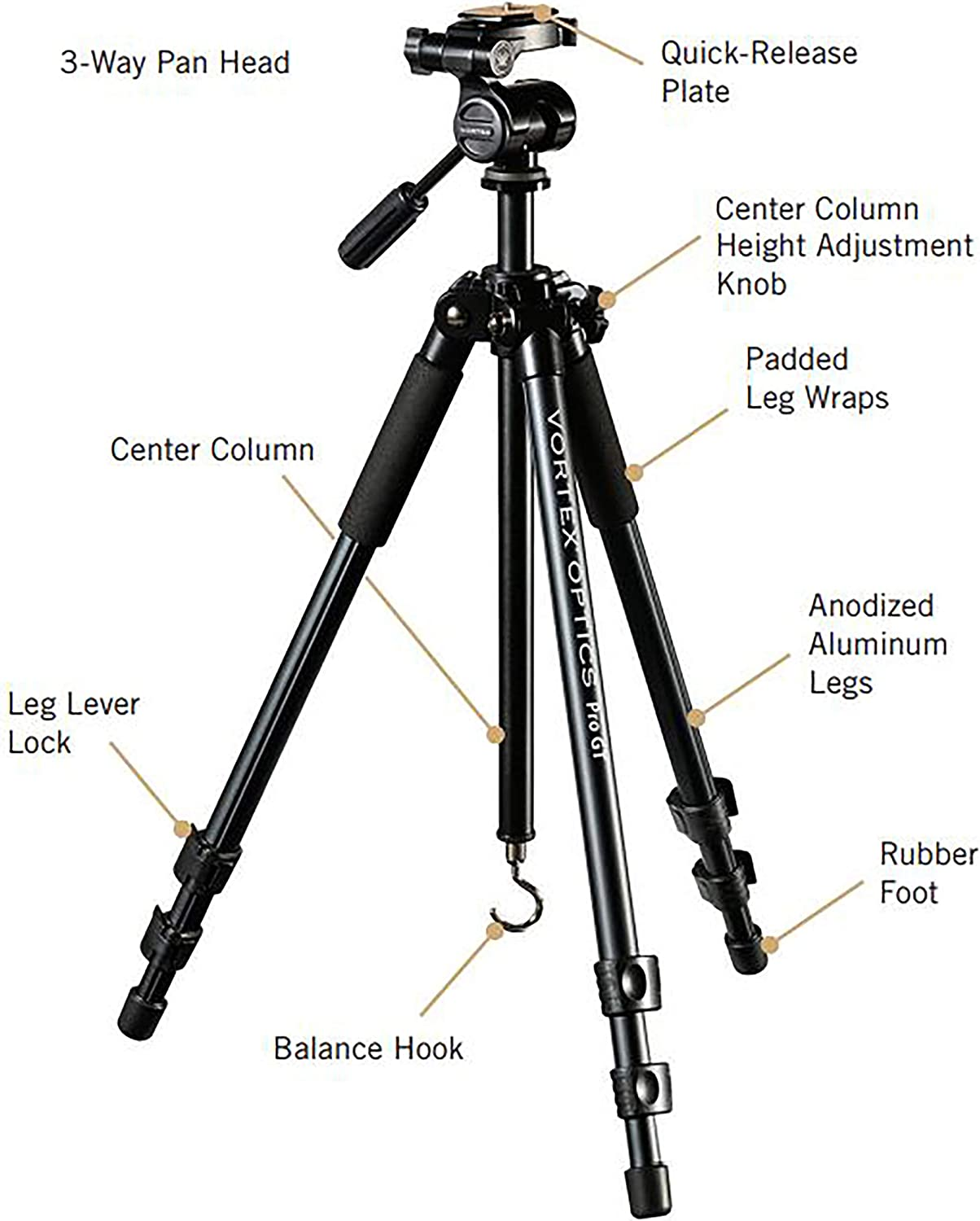 Top 10 Best Tripod For Bird Spotting Scope [buying-guide-2021] 4