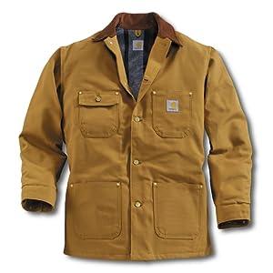 Carhartt CHORE COAT CARHARTT BROWN XL