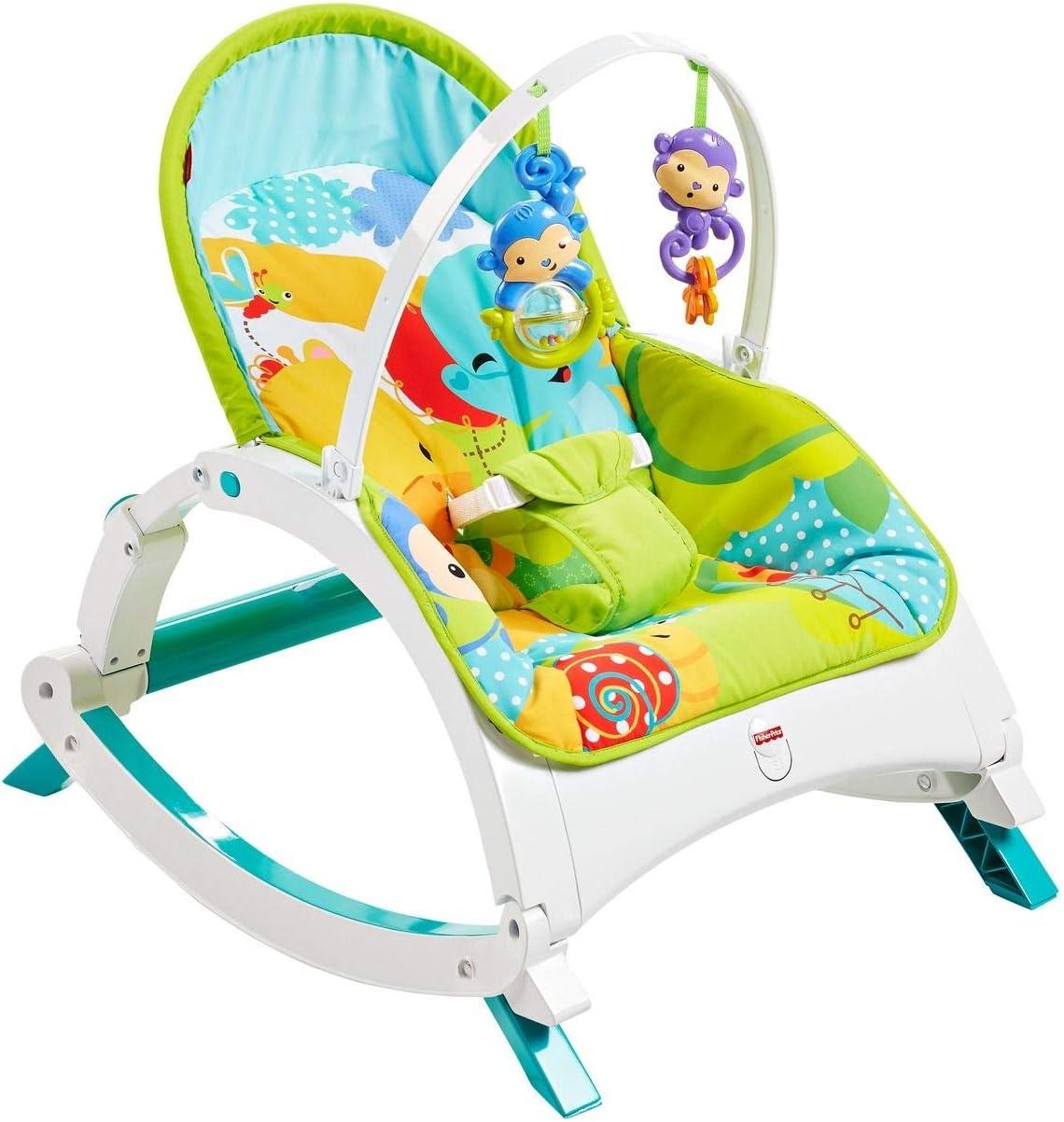Fisher-Price Hamaca multi posiciones, silla para bebé recién nacido (Mattel CMR10) , color/modelo surtido