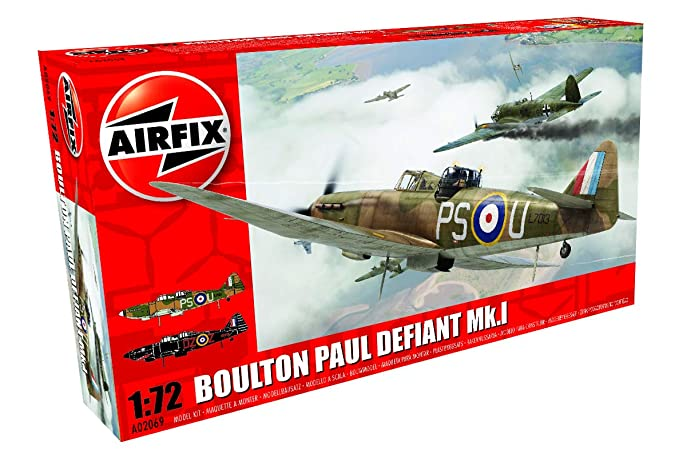 Amazon.com: Airfix a02069 Boulton Paul Defiant MK I Kit de ...