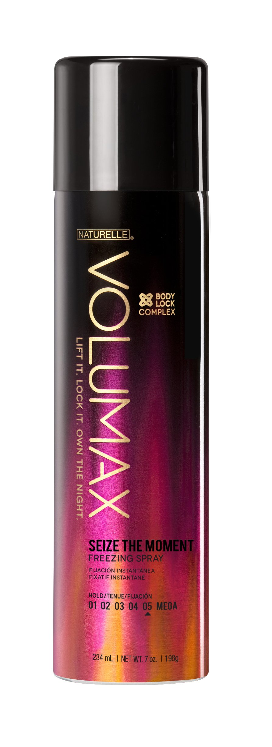 Volumax Seize The Moment Freezing Spray,55% VOC, 7-Ounce