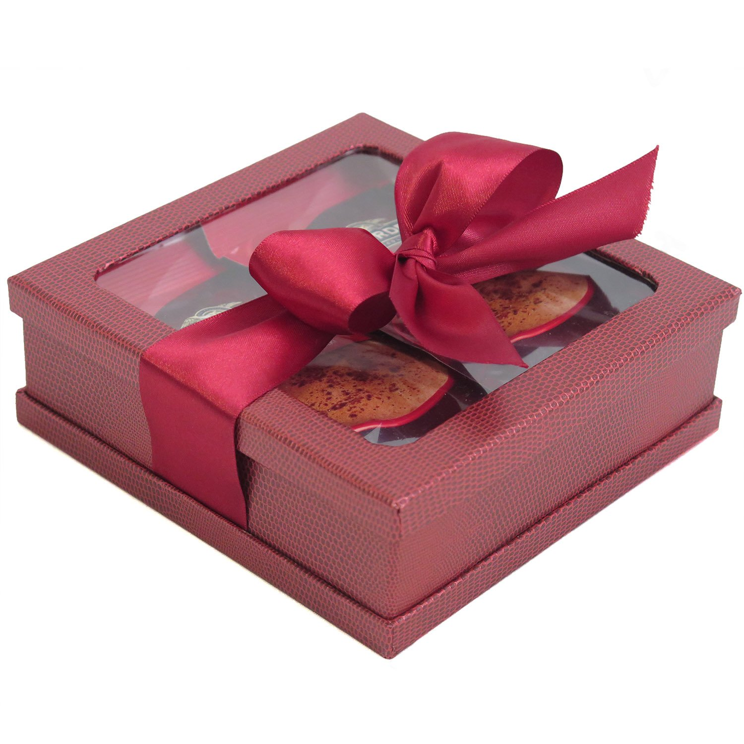 Ghirardelli Hot Cocoa Gift - Hot Cocoa Gift Set - Coffee Gifts - Hot Chocolate Gift Set - Best Gift for Coworkers, Friends, Boss Etc (Burgundy)
