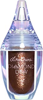product image for Lime Crime Diamond Dew Glitter Eyeshadow, Chocolate Diamond - Iridescent Bronze Lid Topper - Reflective Sparkle Shadow for Lids, Cheeks & Body - Won't Smudge or Crease - Vegan - 0.14 fl oz