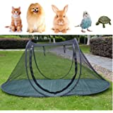 Pet Camping Tent Playpens Cage for Dogs Cats - Birds Parrots Playpens House Small Animal Indoor/Outdoor Play Tent…