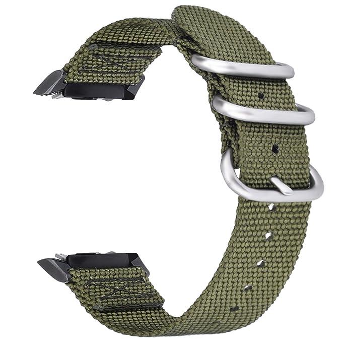 Gear S2 reloj bandas con conector Adaptadores, vigoss OTAN ...