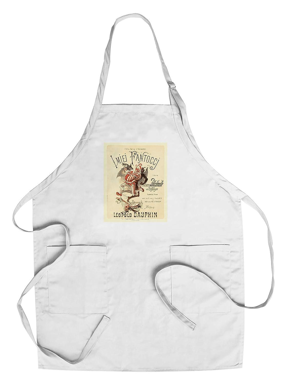 imiei fantoccjヴィンテージポスター(アーティスト: Jules Cheret )フランスC。1879 Chef's Apron LANT-65838-AP B018NNX5BG  Chef's Apron