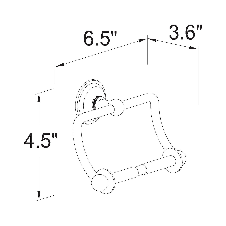 Ginger 2609//PN Motiv-London Terrace Hanging Toilet Tissue Holder