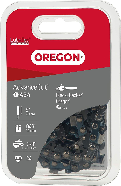 Oregon Q90SG034E SB Cha/îne de tron/çonneuse basse vibration