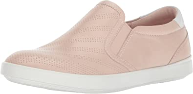 Perforated Slip on Fashion Sneaker
