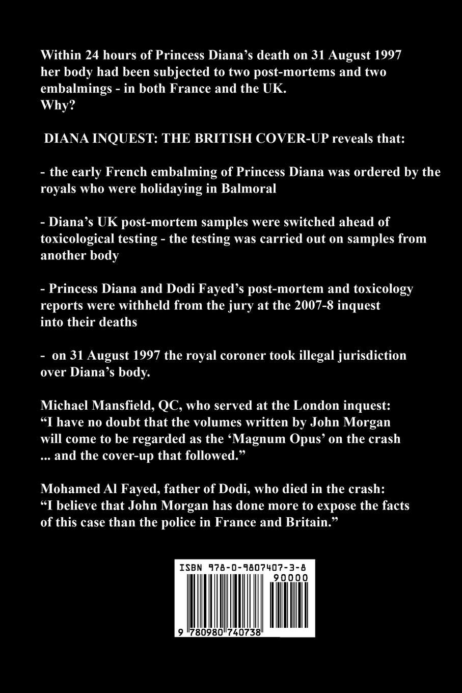 Diana Inquest: The British Cover-Up: Amazon co uk: John